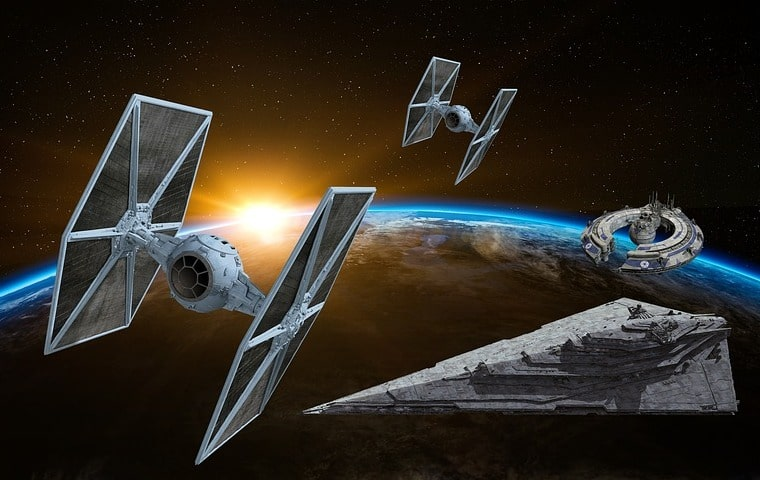 , Deux soirées exceptionnelles Star Wars aux Carrières de Lumières des Baux