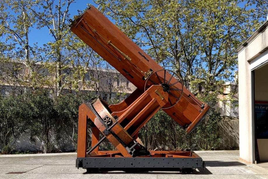 , Insolite – Le télescope du 19e siècle de l'observatoire de Marseille