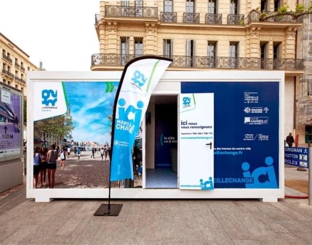 """, """"Marseille change"""", les grands chantiers pour un centre-ville piéton et arboré"""