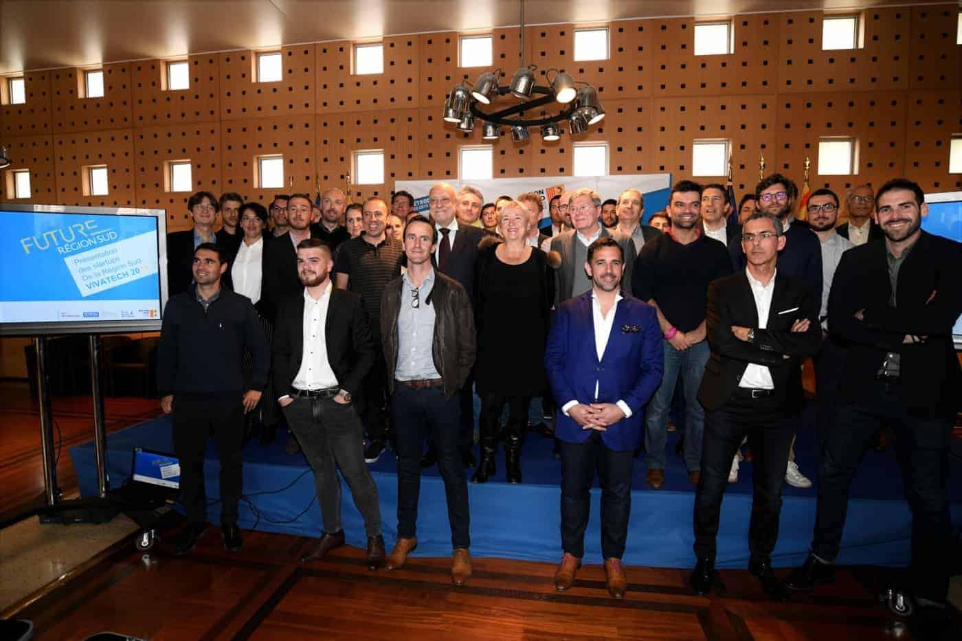 , 36 start-up représentent la région Sud au salon Viva Technology