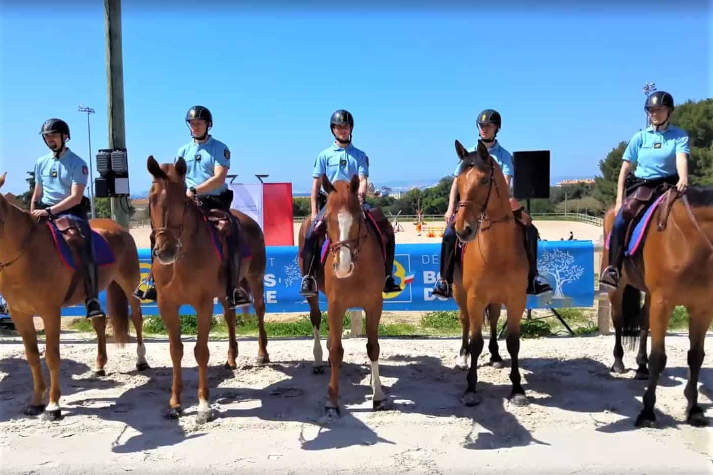 Garde Du Corps Marseille la garde républicaine s'installe définitivement à marseille