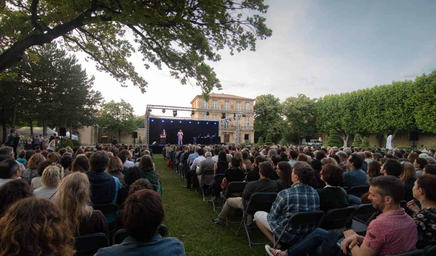 , Top départ des journées de l'éloquence à Aix-en-Provence