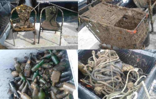 , 7 tonnes de déchets repêchés dans le Vieux-Port