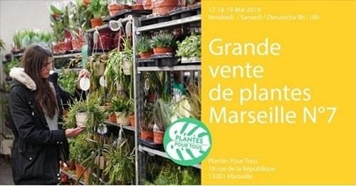 , Une grande vente de plantes à petits prix ce week-end à Marseille