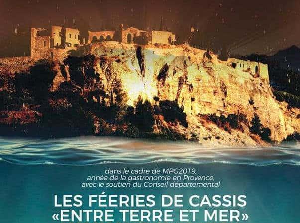 Des spectacles son et lumière sur le rocher du Château de Cassis fin mai | Made in Marseille