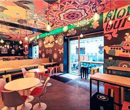 , Les burgers vegan et arc-en-ciel de Flower Burger débarquent à la Joliette