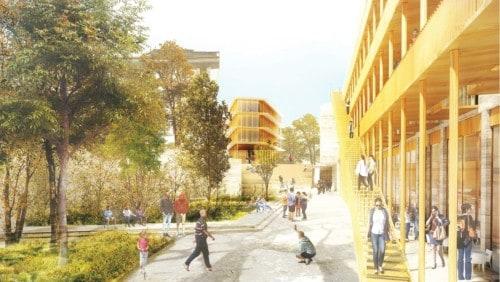 , Jardin partagé, résidence d'artistes, crèche, resto… au bord du parc Saint-Charles