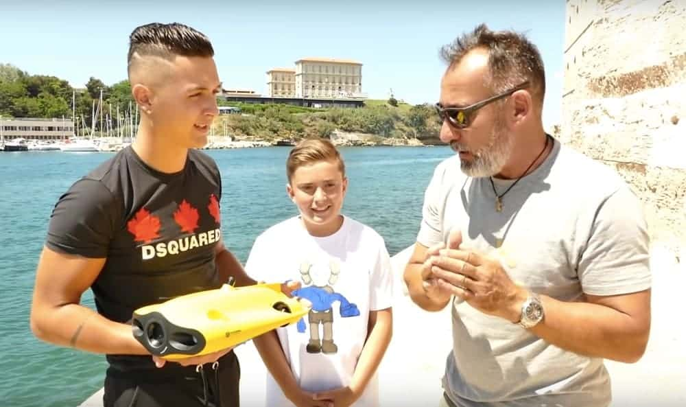 , Des trottinettes repêchées dans le Vieux-Port grâce à un robot sous-marin, Made in Marseille, Made in Marseille