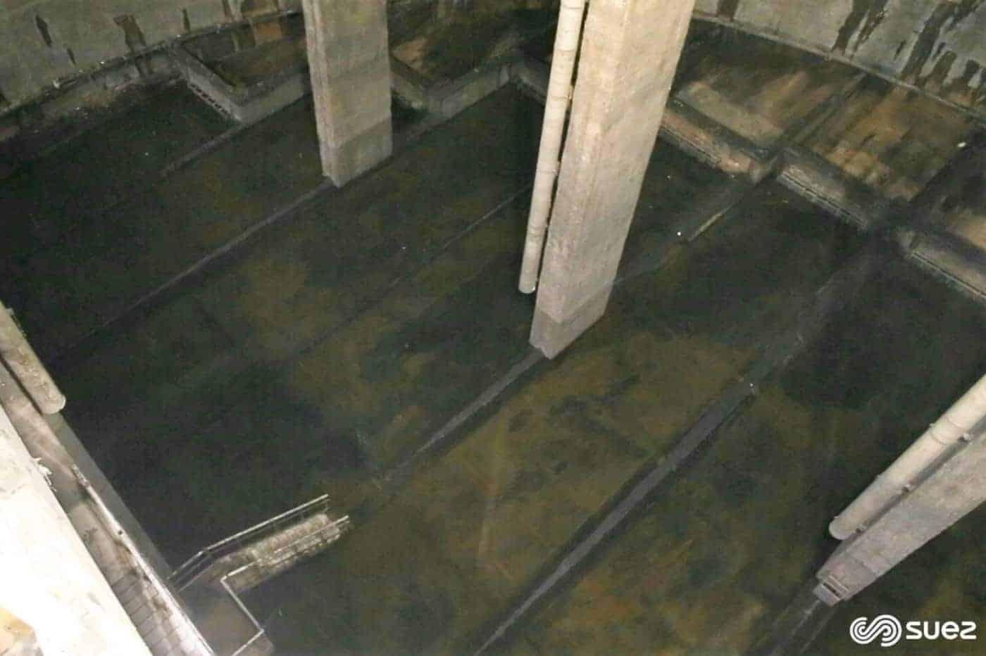 , Quel est le rôle du bassin Ganay dans le réseau d'assainissement à Marseille ?