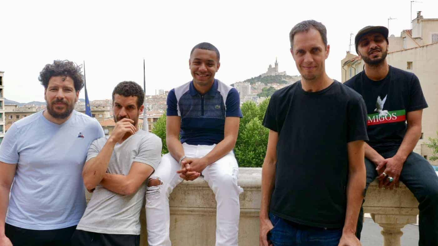 , Vidéo – Grand Corps Malade et Mehdi Idir de passage à Marseille pour présenter «La Vie Scolaire», Made in Marseille, Made in Marseille