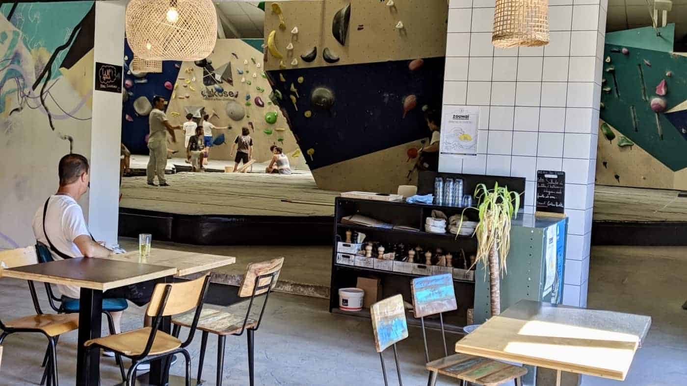 , Arkose Prado, un restaurant où l'on peut faire de l'escalade à Marseille, Made in Marseille, Made in Marseille