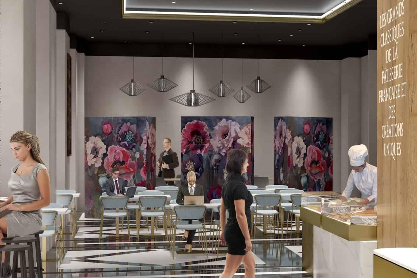 , Découvrez la future brasserie du Palais de la Bourse
