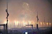 , Le vol de Franky Zapata et feu d'artifice du 14 juillet sur le Vieux-Port en images