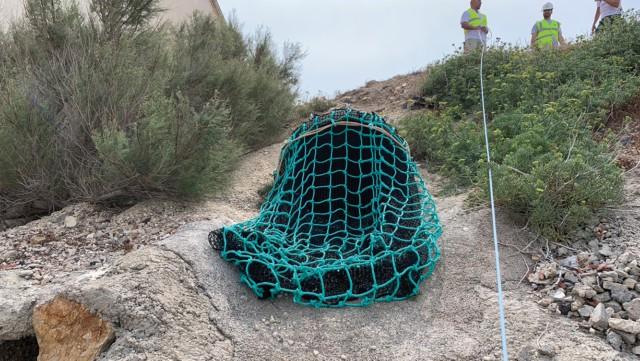 , Des filets pour limiter les déchets en mer installés à Marseille