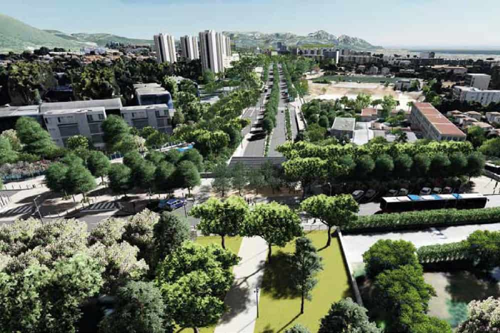 , L'impact environnemental du Boulevard Urbain Sud s'invite dans les municipales, Made in Marseille
