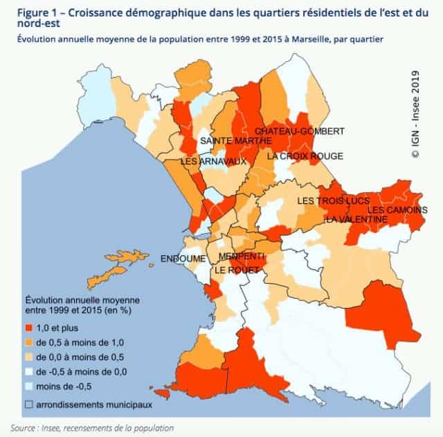 , Depuis 15 ans, Marseille gagne des habitants et de plus en plus de cadres