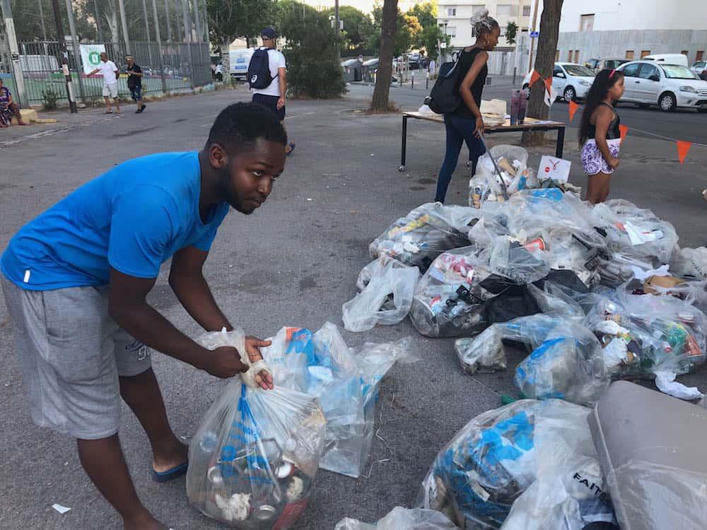 ", Le phénomène du ""clean challenge"" s'incruste à Félix-Pyat, Made in Marseille, Made in Marseille"