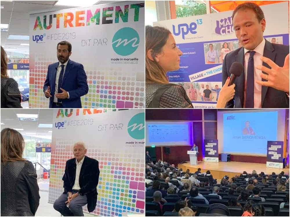 , En vidéo, le Forum des entrepreneurs de l'Upe 13 marque la rentrée économique, Made in Marseille, Made in Marseille