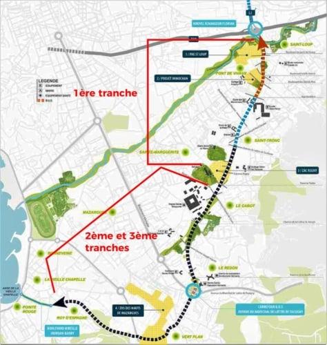 , Boulevard Urbain Sud : une nouvelle étude pour la 3ème tranche