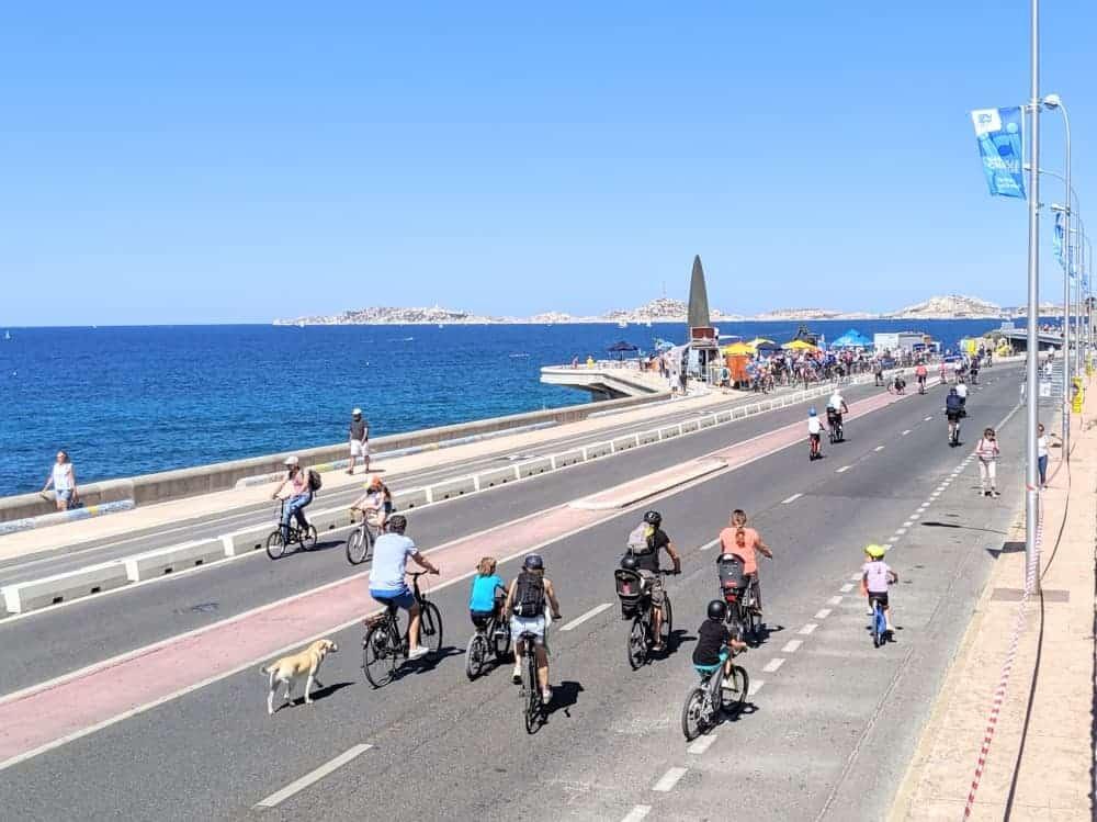, Une voie cyclable littorale pour relier Nice à Marseille à l'étude