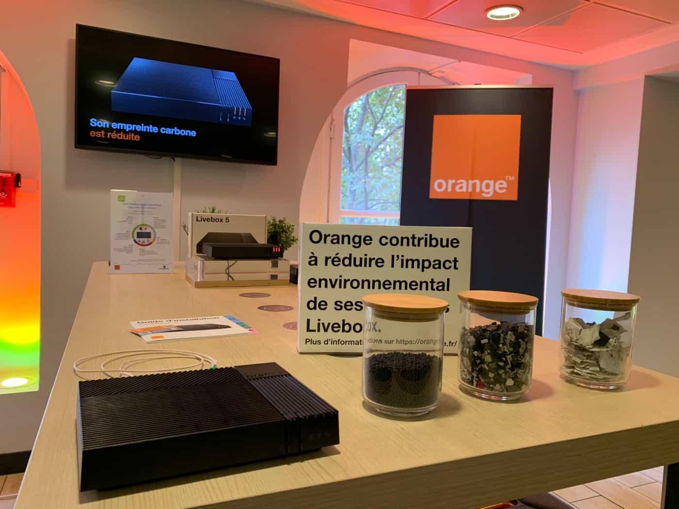 , Orange lance la première box fabriquée à 100% en plastique recyclé