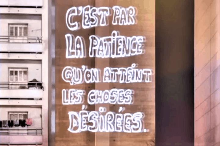, Avec Philippe Echaroux, les jeunes de Félix Pyat écrivent leur positivité sur les murs de la cité, Made in Marseille