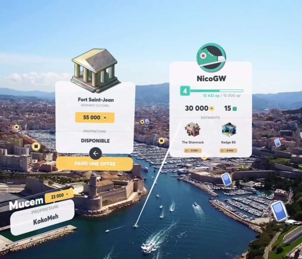 , Neopolis, le nouveau jeu sur smartphone qui transforme les rues de Marseille en un Monopoly géant, Made in Marseille