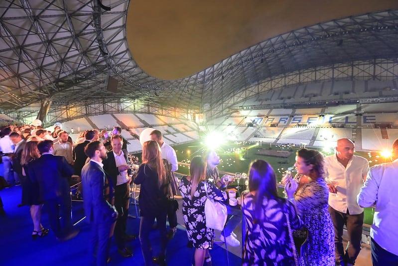 , Réunions dans les vestiaires, soirées en tribunes… L'Orange Vélodrome se privatise