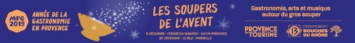 Provence Tourisme soupers de l'avent MPG2019