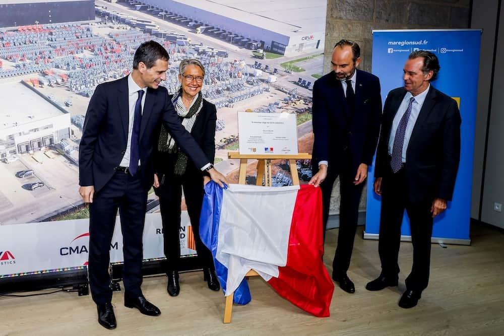 , Le siège de CEVA Logistics inauguré par Edouard Philippe, Made in Marseille