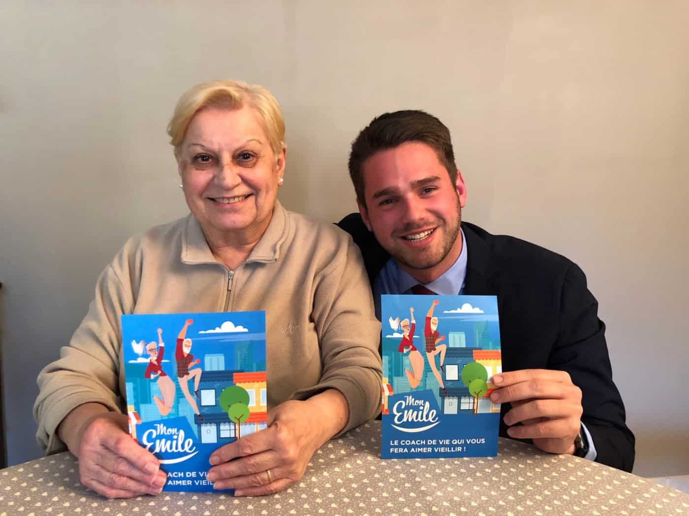 , Mon Emile, la start-up marseillaise qui s'engage auprès des seniors, Made in Marseille