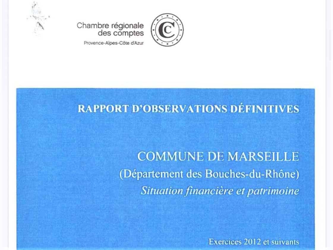 , La Chambre régionale des comptes étrille la gestion municipale, Made in Marseille, Made in Marseille
