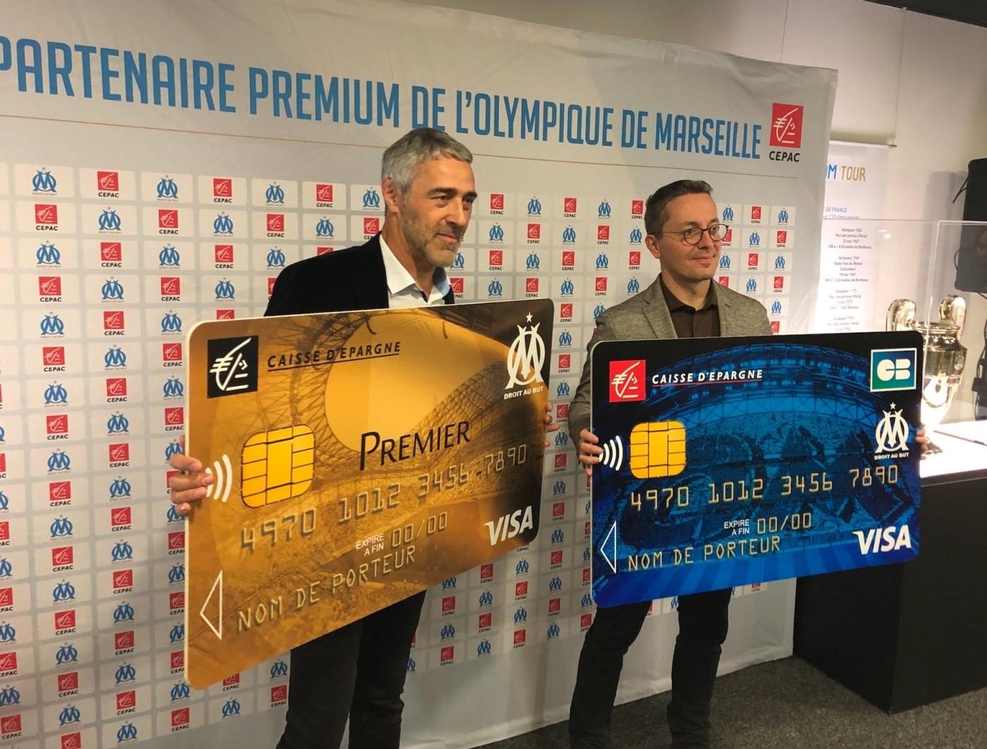 , La Caisse d'Epargne CEPAC lance ses nouvelles cartes bancaires de l'OM, Made in Marseille, Made in Marseille