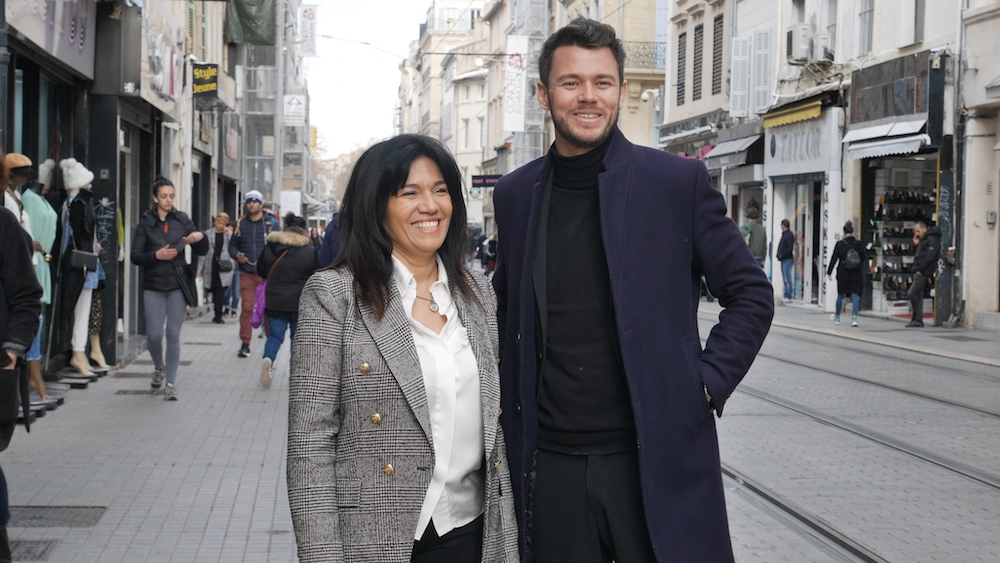 , Gaëtan Poitevin, tête de liste de Samia Ghali dans le 1er secteur, Made in Marseille