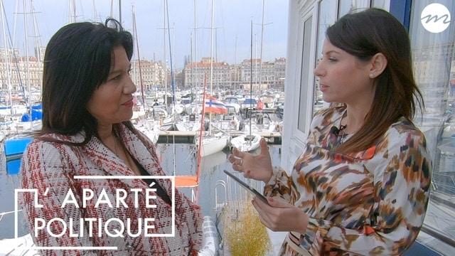 , Émission – Samia Ghali, candidate (SE) à Marseille est l'invitée de L'Aparté Politique, Made in Marseille, Made in Marseille