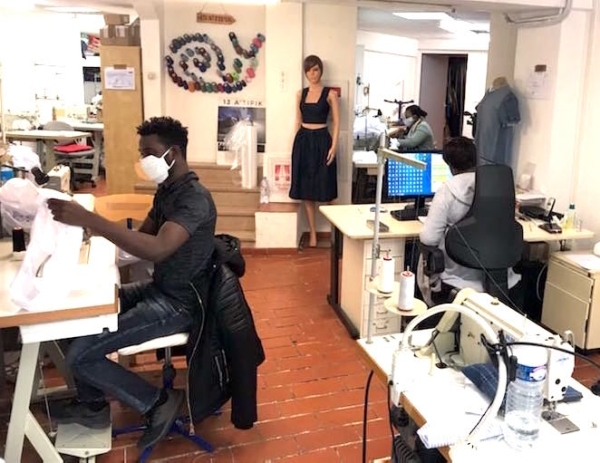, Fask : une mobilisation solidaire de 600 couturiers va produire 50.000 masques, Made in Marseille, Made in Marseille