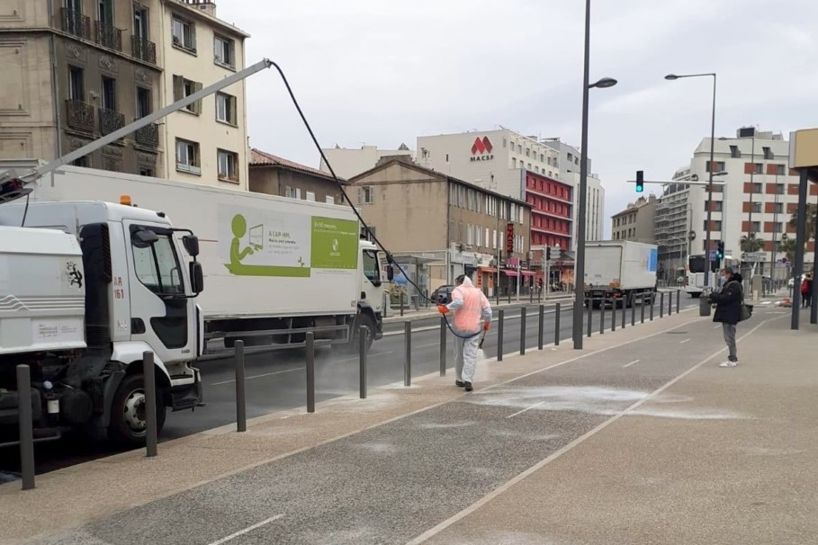 , La désinfection des rues de Marseille a débuté aujourd'hui et continue demain, Made in Marseille, Made in Marseille