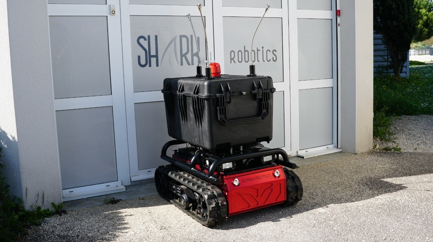 , Rhyno Protect, un robot made in France pour décontaminer les zones infectées, Made in Marseille, Made in Marseille