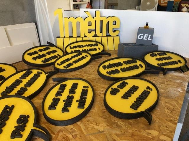 , Les Gros-Mots, l'alternative aubagnaise pour faire passer le message de prévention sanitaire, Made in Marseille, Made in Marseille