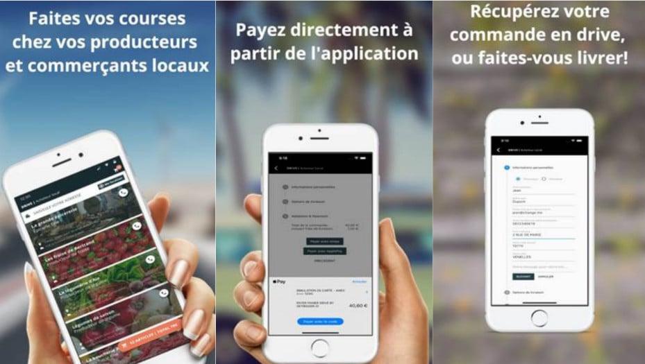 ", ""Le Drive Local"", la première plateforme de e-commerce de proximité, Made in Marseille, Made in Marseille"