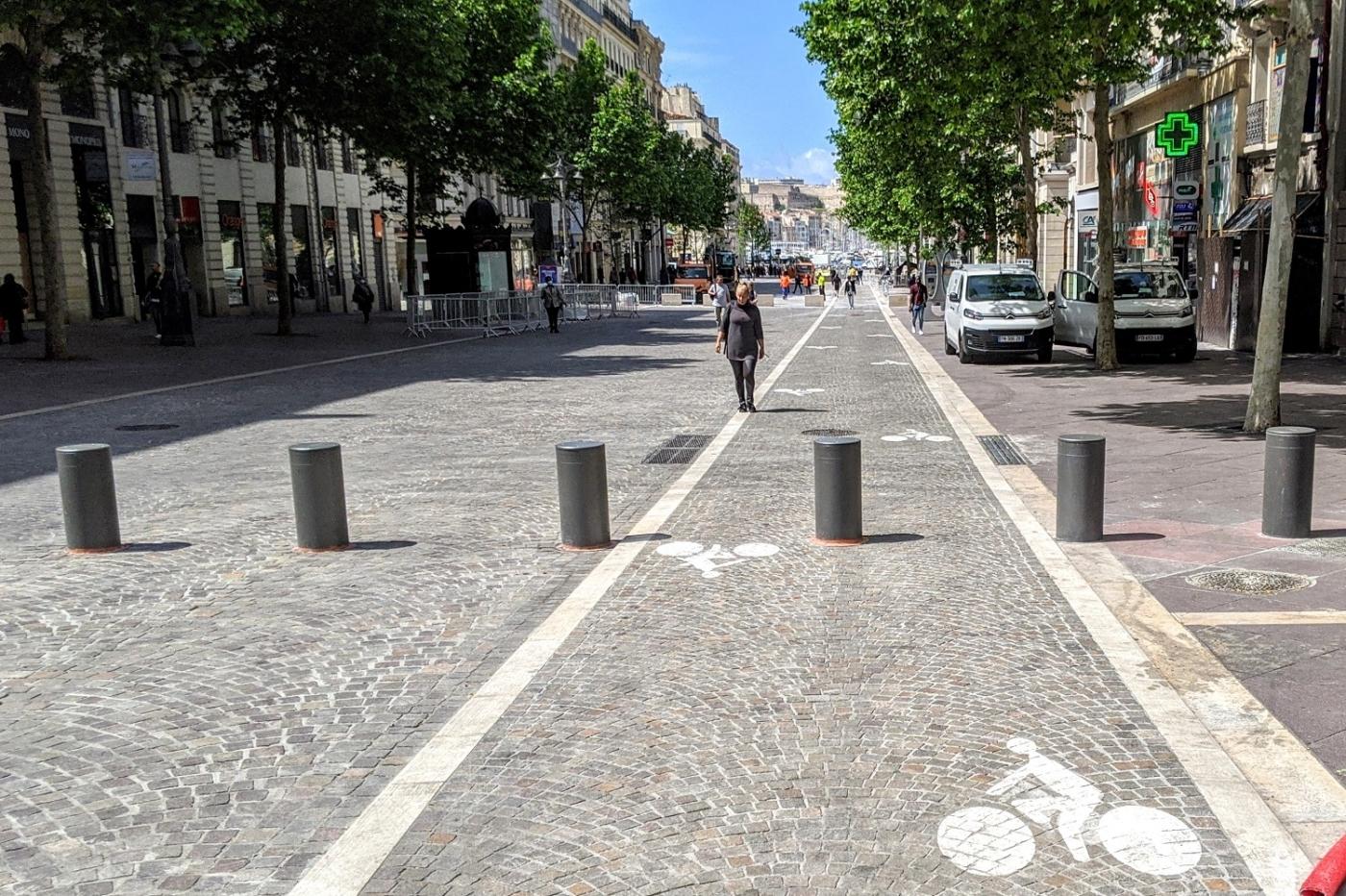 , 9 km de pistes cyclables provisoires aménagées à Marseille à partir de lundi, Made in Marseille, Made in Marseille