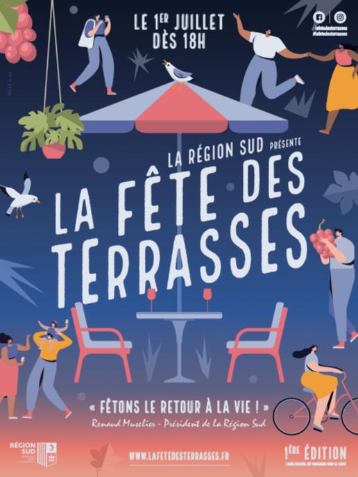 , Rendez-vous le 1er juillet dans toute la Région Sud pour la Fête des Terrasses, Made in Marseille, Made in Marseille