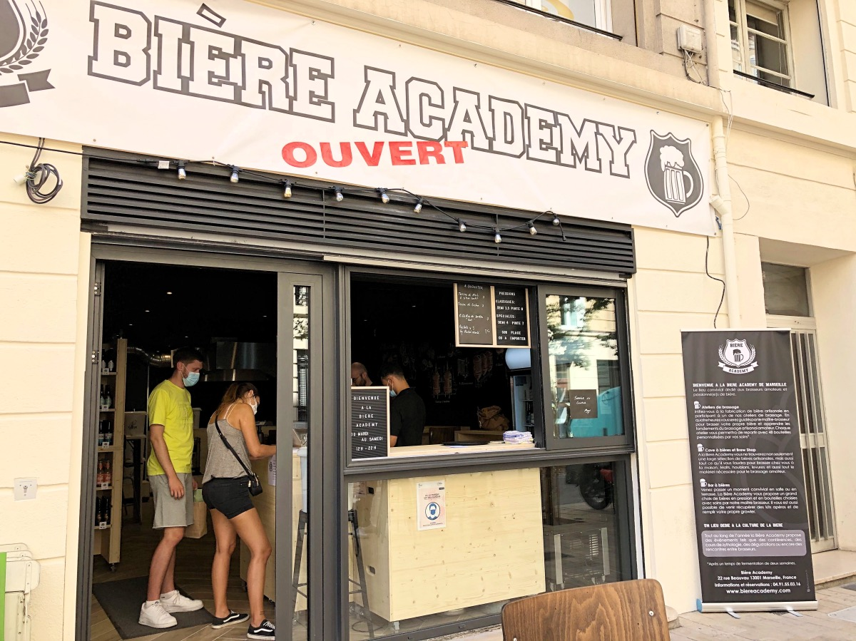 , Bière Academy : le nouveau bar pour brasser et déguster sa bière en centre-ville, Made in Marseille
