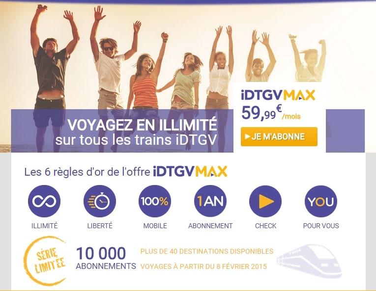 iDTGV, iDTGV met en vente des pass illimités à l'année, Made in Marseille
