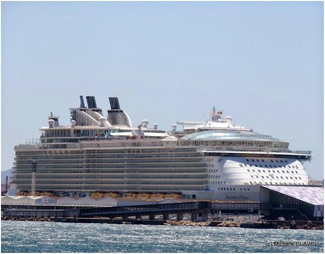 Marseille, [Visite] Le plus gros paquebot du monde en escale à Marseille