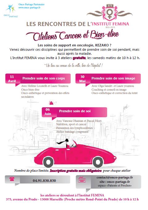 ateliers, Des ateliers pour favoriser le bien-être des patientes atteintes d'un cancer, Made in Marseille, Made in Marseille