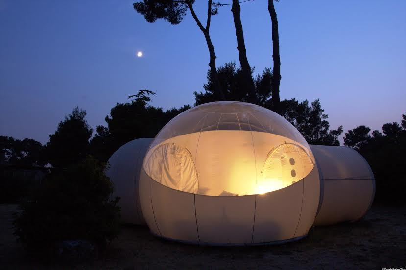 Reportage escapade insolite dans une bulle sous les toiles made in marseille Attrap reves hotel