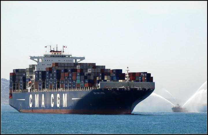 CMA CGM, La CMA CGM reçoit le prix de Transporteur maritime de l'année, Made in Marseille