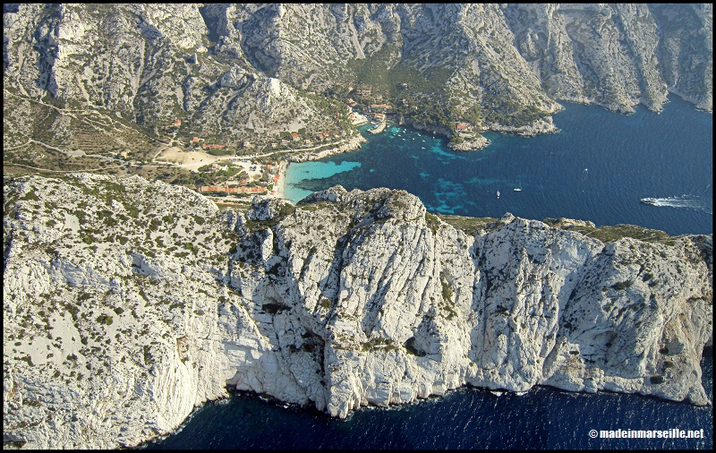 , Nos photos des Calanques de Marseille à La Ciotat vues du ciel, Made in Marseille