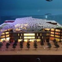 La maquette du projet présentée au MIPIM de Cannes en mars 2015 © JZ